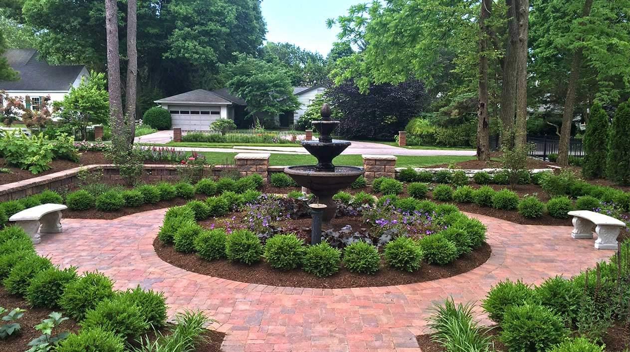 Summer Landscaping spring landscape clean-up & summer maintenance - eagle creek